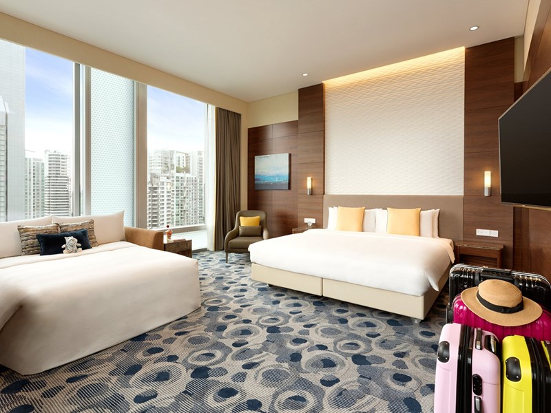 Deluxe Family Room du Jen Orchardgateway Singapore