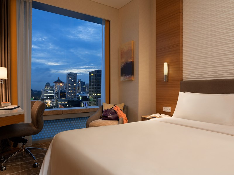 Superior Cityview Room du Jen Orchardgateway Singapore