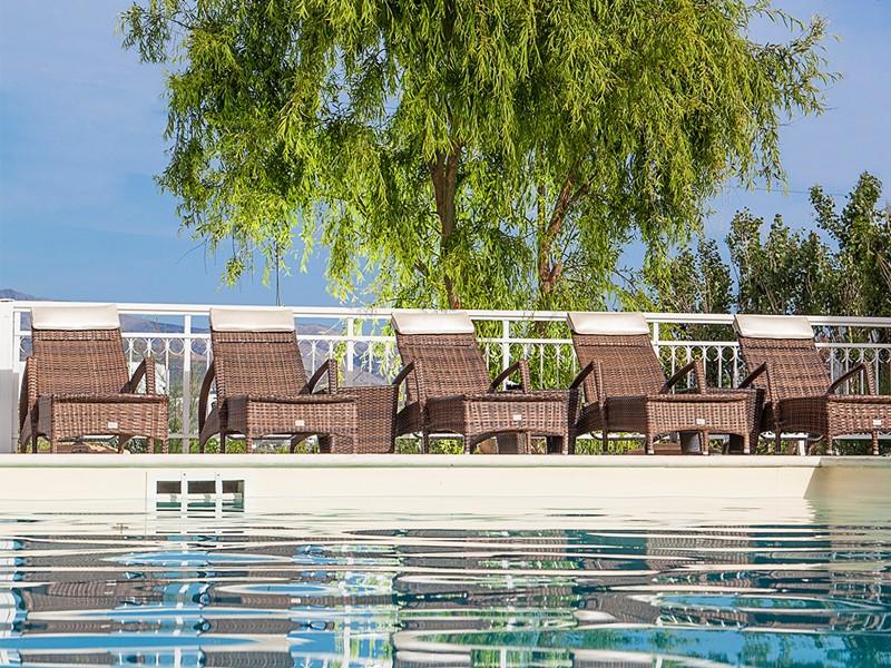 La piscine du Lagos Mare Hotel