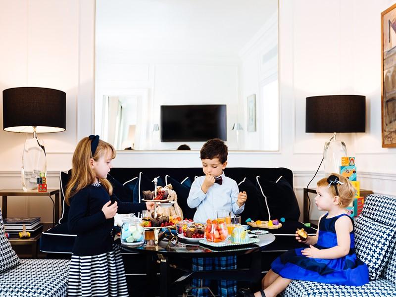 Séjour en famille au Lungarno Hotel