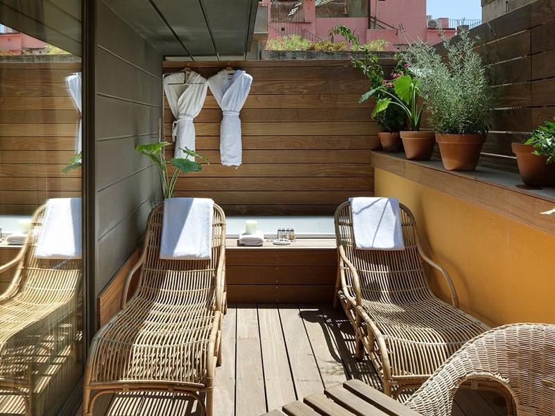 Deluxe with Terrace de l'hôtel Neri à Barcelone