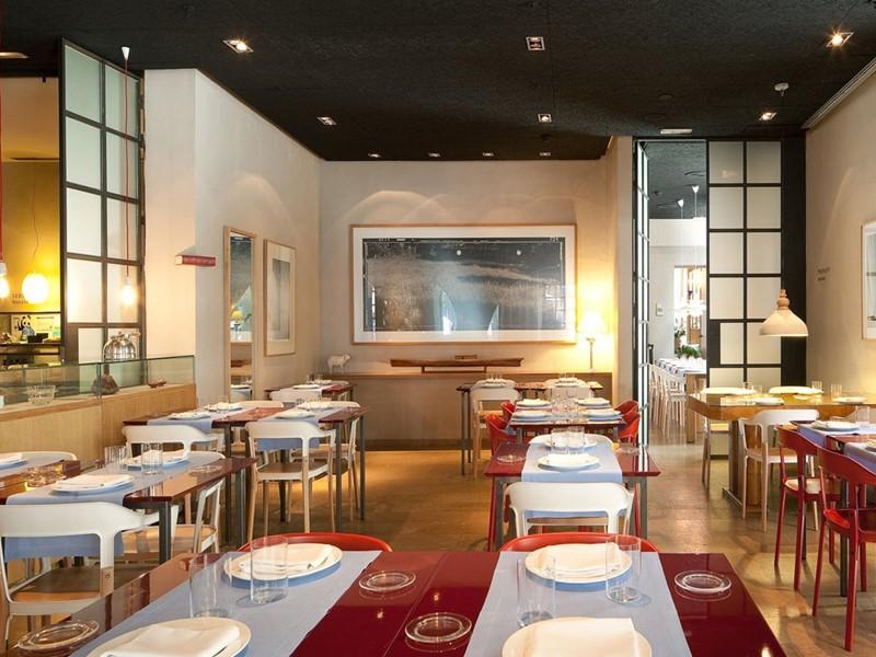 Le restaurant Neri du Neri Hotel situé en Espagne