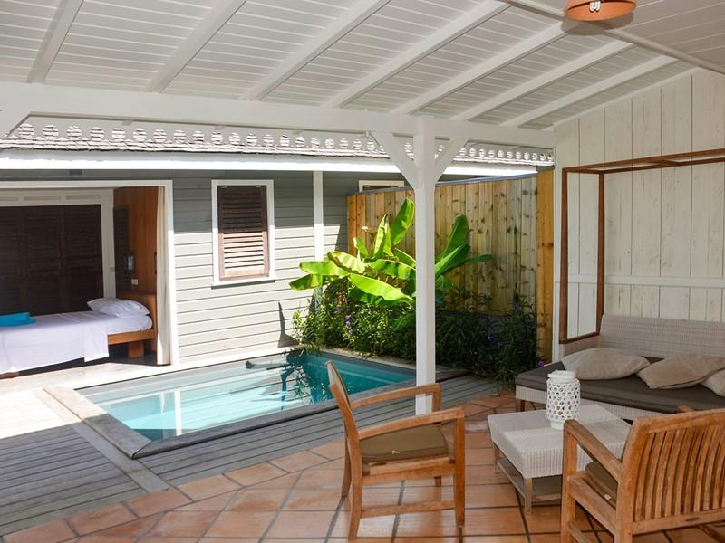 La piscine de la Master Pool de l'Hotel Plein Soleil