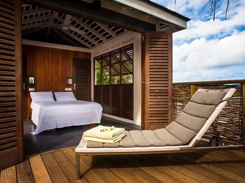 La Master Pool de l'Hotel Plein Soleil en Martinique