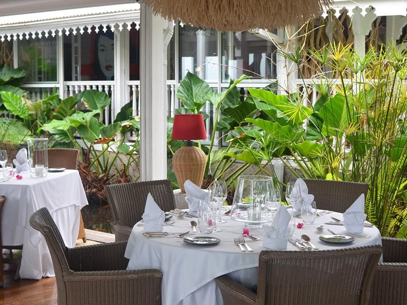 Cuisine aux accents franco-caribéens au restaurant du Plein Soleil