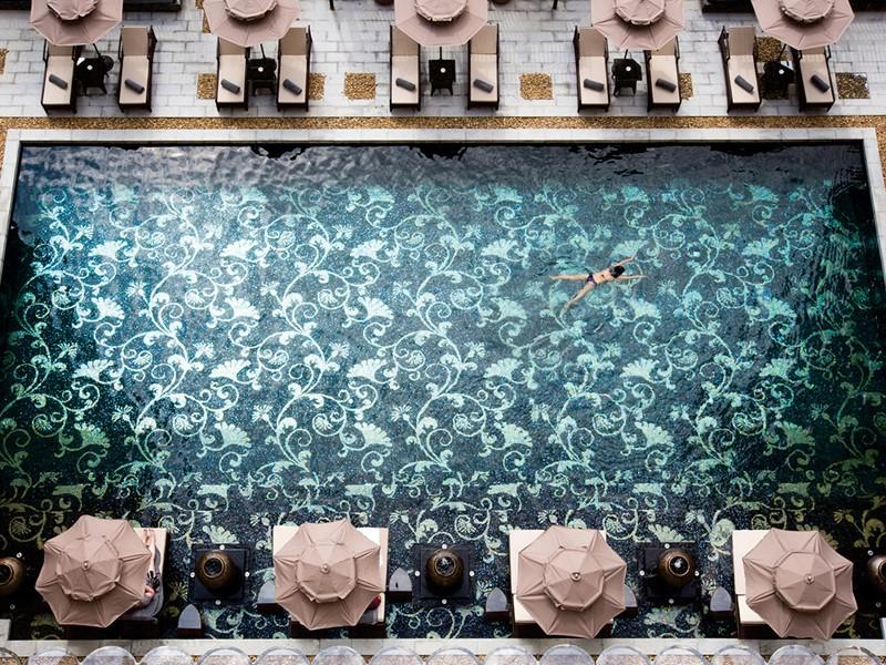 Profitez de la superbe piscine de l'Hotel Royal Hoi An