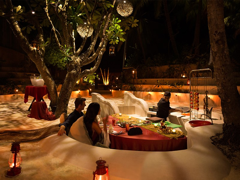 Dîner romantique au Cardamom Lounge