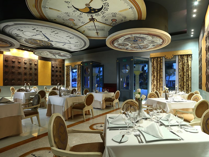 Le restaurant Le Tourbillon