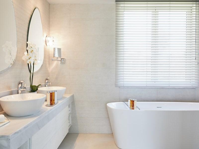 La salle de bain de la Deluxe Suite