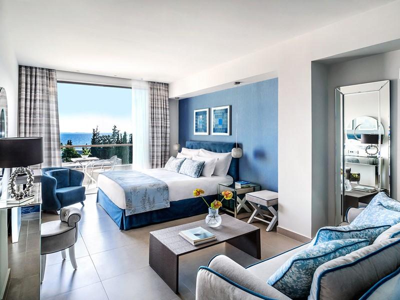 Superior Room Inland View de l'Ikos Olivia en Grèce
