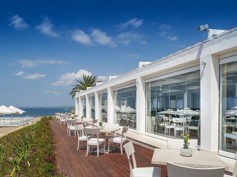 Le restaurant FUSCO de l'hôtel Ikos Olivia à Halkidiki