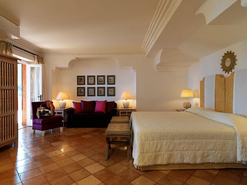 Suite Junior Vue Mer de l'hôtel Il Pelicano en Italie