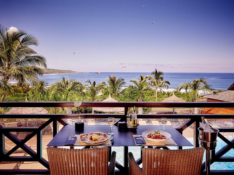 La terrasse du restaurant Trattoria