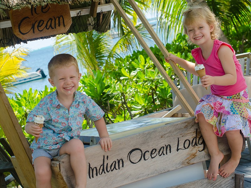 Rafraichissez vous à l'Indian Ocean Lodge à Praslin