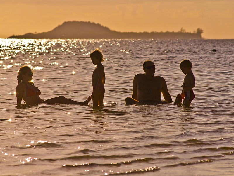 Séjour idéal en famille à l'hôtel Indian Ocean Lodge
