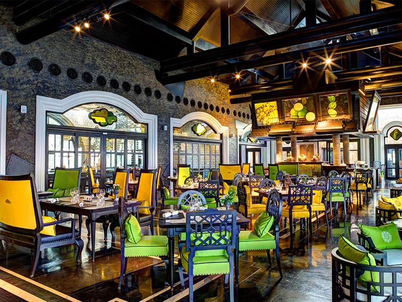 Restaurant Citron de l'hôtel 5 étoiles Intercontinental Da Nang au Vietnam
