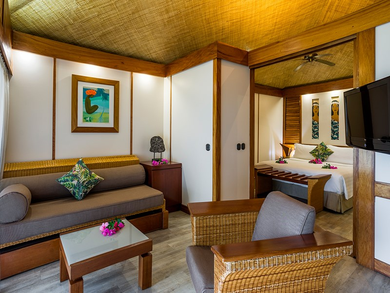 Overwater Junior Suite Bungalow de l'Intercontinental Moorea
