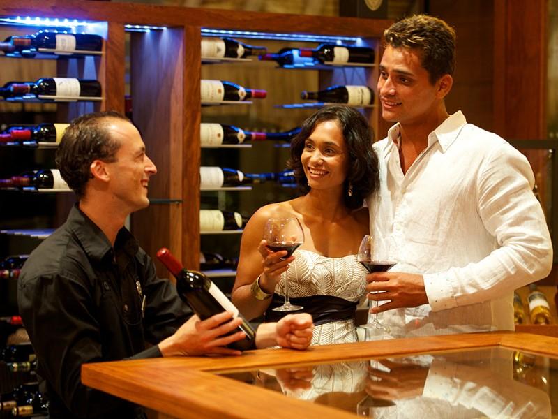 Une large sélection de vins vous attend à l'Intercontinental