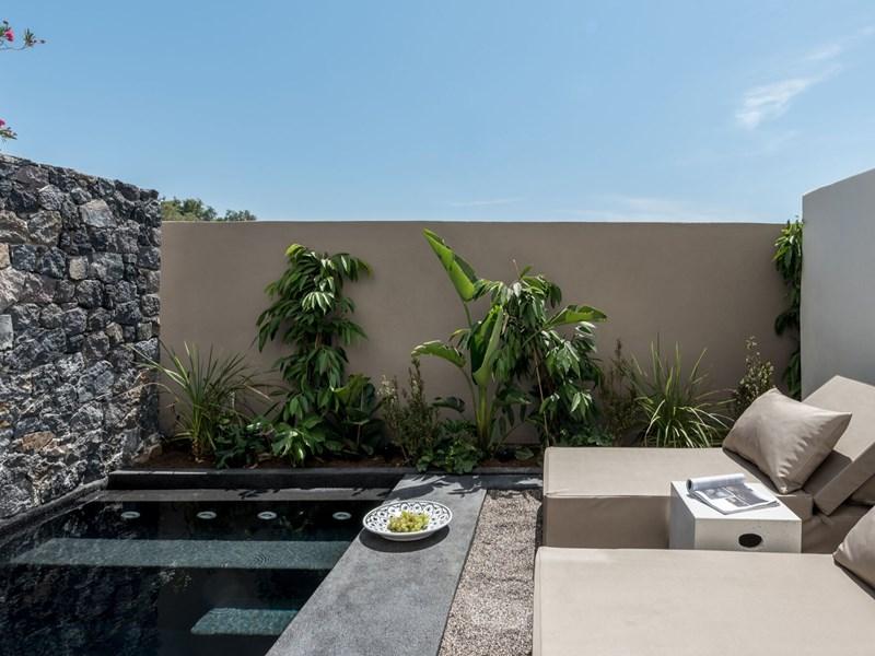 La piscine de la Tarina Suite