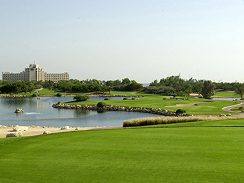 Le terrain de golf du Jebel Ali Resort à Dubaï