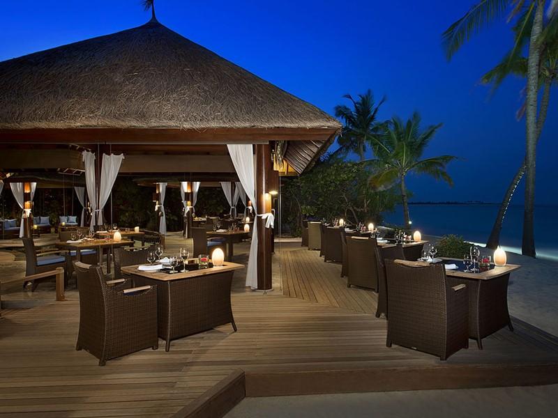Ocean Grill Restaurant de l'hôtel JA Manafaru