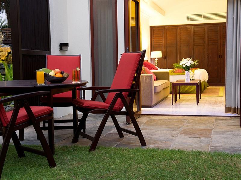 Ground Floor Junior Suite de l'hôtel Palm Tree Court