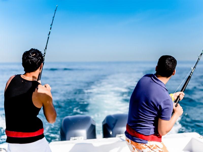 Pêche à l'hôtel Palm Tree Court situé à Dubaï