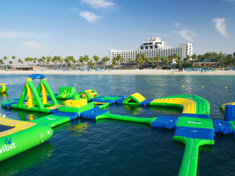 Parc aquatique de l'hôtel Palm Tree Court à Dubaï