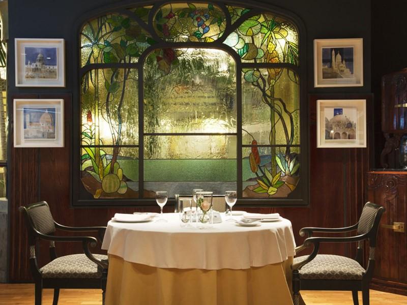 Le restaurant La Cúpula de l'hôtel Jardines de Nivaria