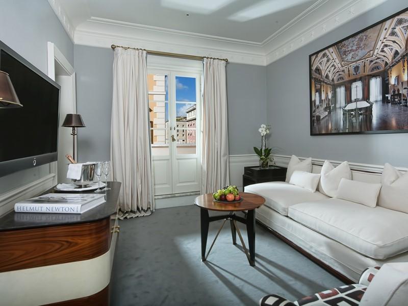 JK Master Balcony Room du JK Place Roma, en Italie