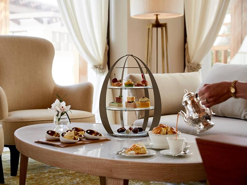 Petits délices à l'heure du thé au Jumeirah Al Naseem