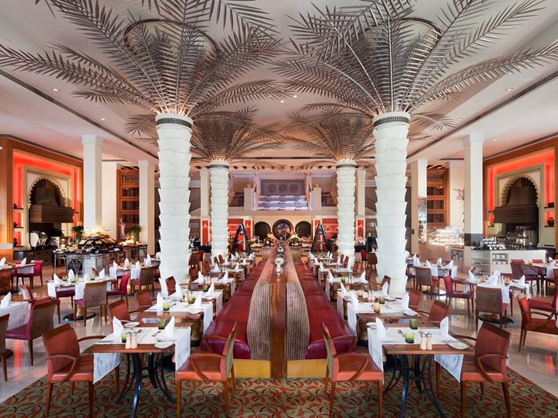 Restaurant Arboretum de l'Al Qsar à Dubaï