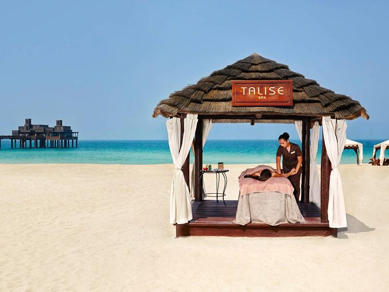 Le spa de l'hôtel 5 étoiles Al Qsar à Dubaï
