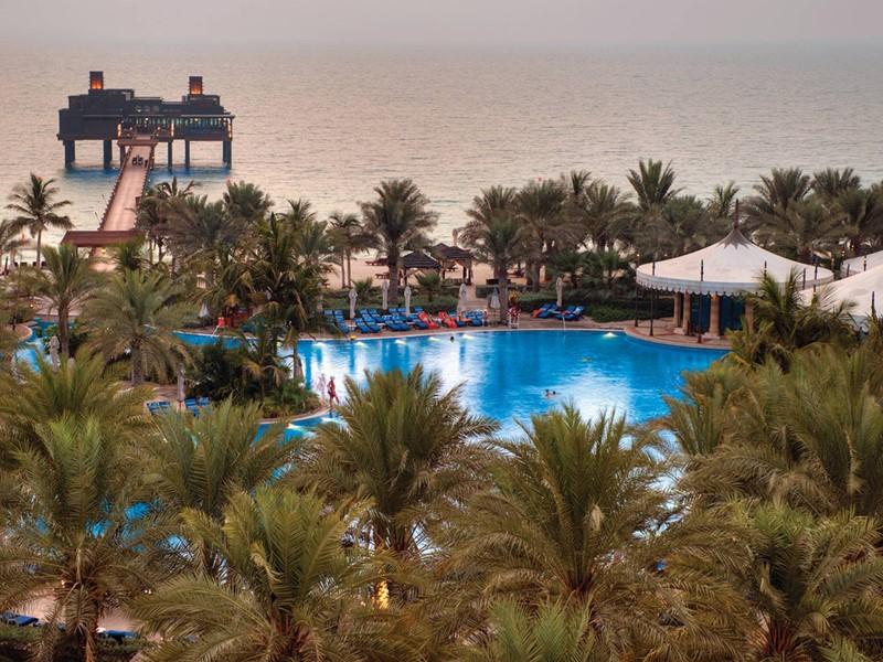 La piscine de l'Al Qsar situé à Dubaï