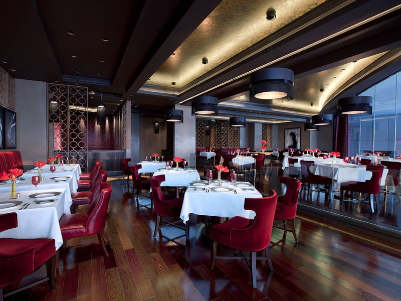 Le restaurant libanais Li Beirut du Jumeirah At Etihad Towers