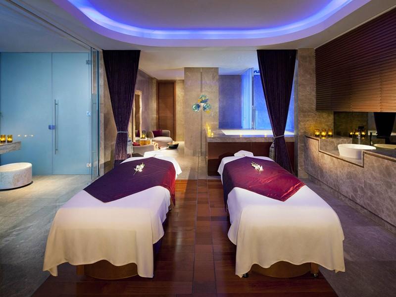 Le spa de l'hôtel 5 étoiles Jumeirah At Etihad Towers