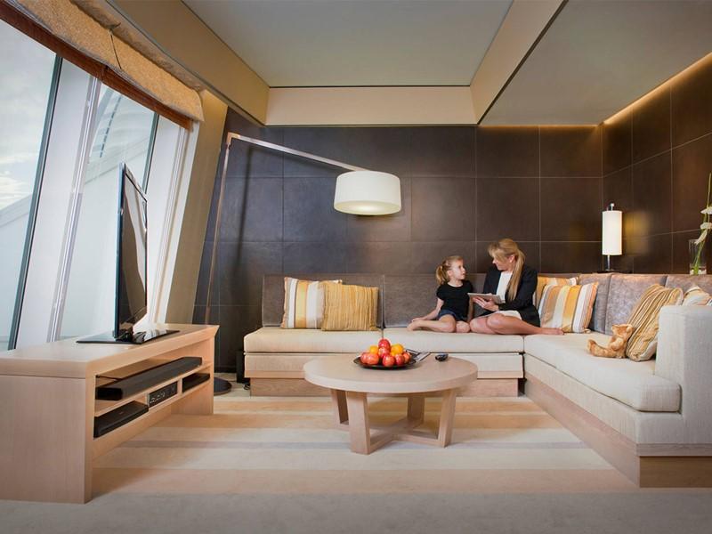 Ocean Premium Leisure Club King Room du Jumeirah Beach