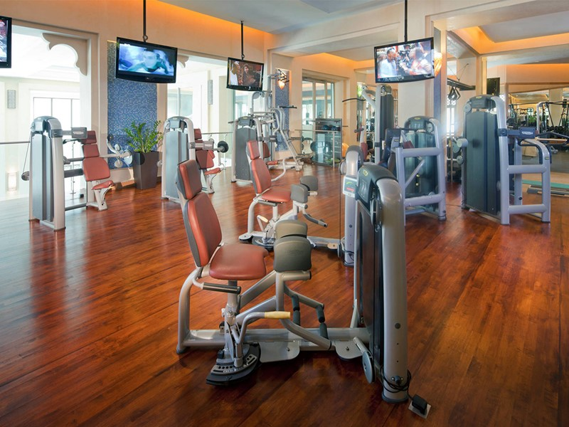 Gym du Dar Al Masyaf at Madinat Jumeirah Resort