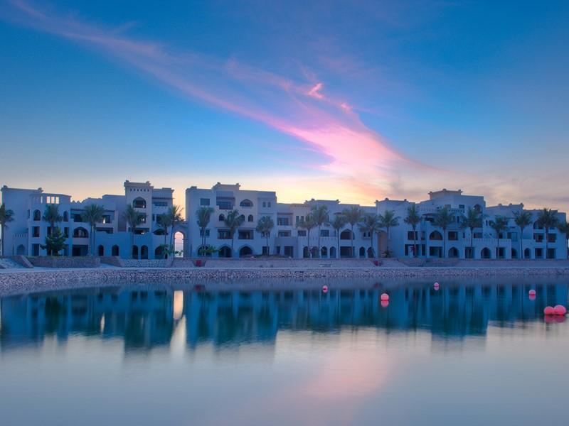 Vue du Juweira Boutique Hotel, une jolie adresse à Oman