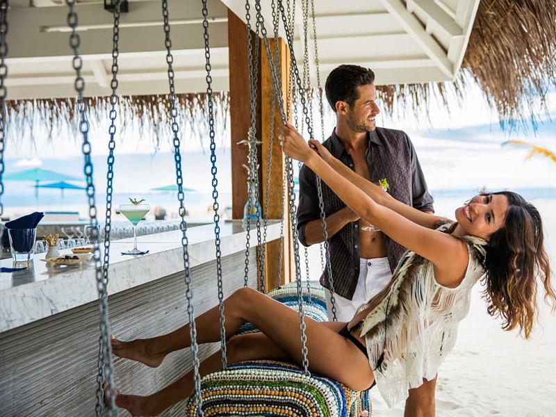 Le bar Iru Beach Lounge