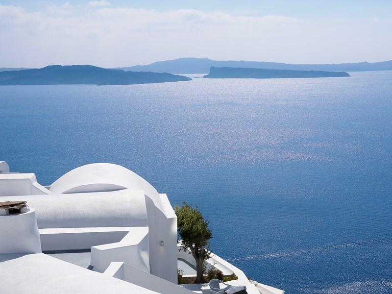 Vue Imprenable sur la mer Egée
