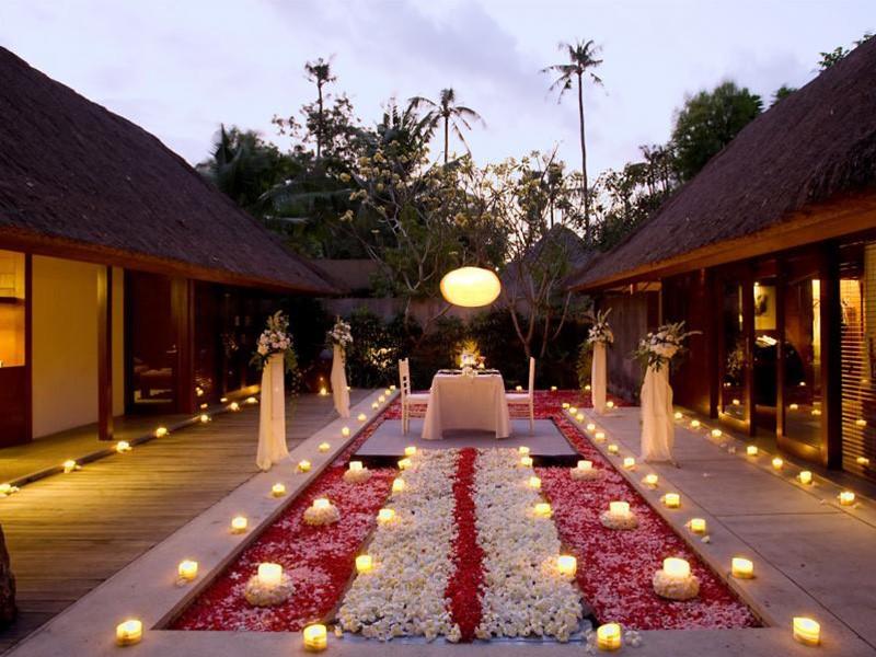 Dîner romantique à l'hôtel Kayumanis Jimbaran