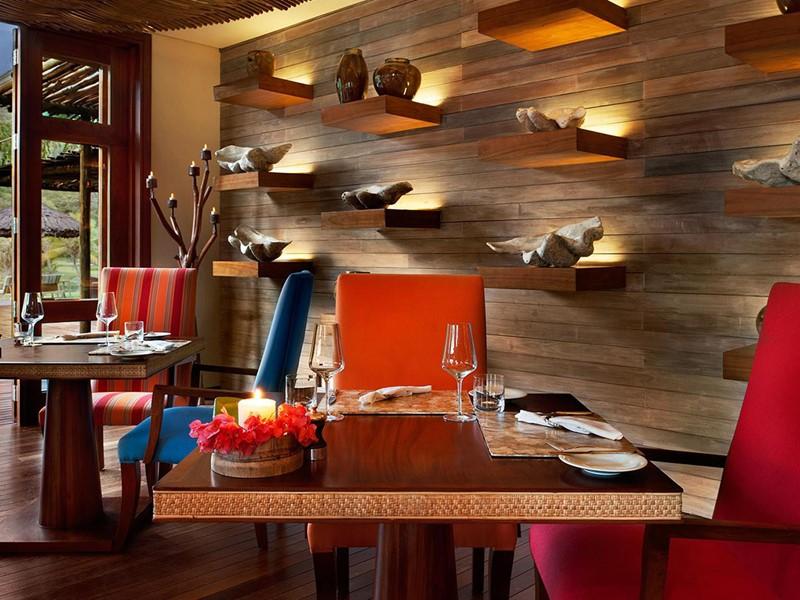 Le restaurant L'indochine du Kempinski à Mahé