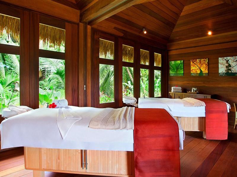 Le spa de l'hôtel 5 étoiles Kempinski Seychelles