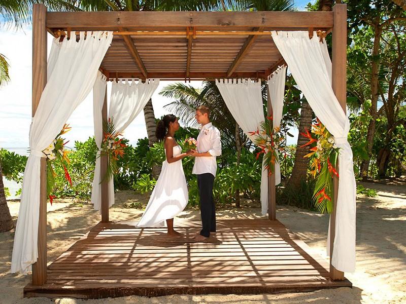 Mariage à l'hôtel Kempinski à Mahé aux Seychelles