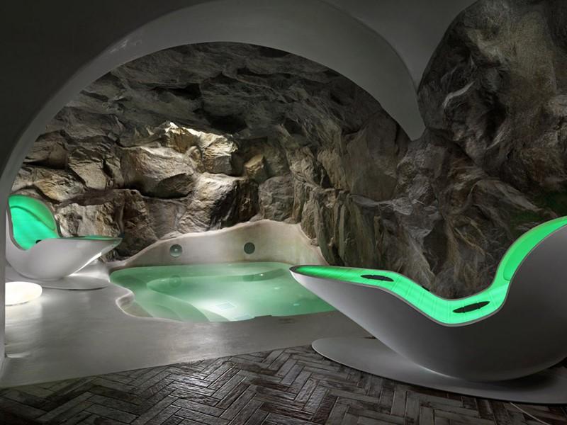 Le spa futuriste du Kensho Boutique Hotel