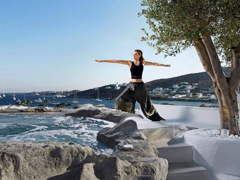 Yoga dans un cadre unique