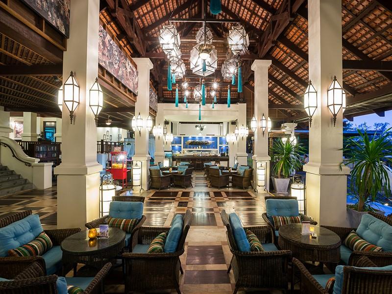 Rafraichissez vous au Club Lounge du Khaolak Laguna