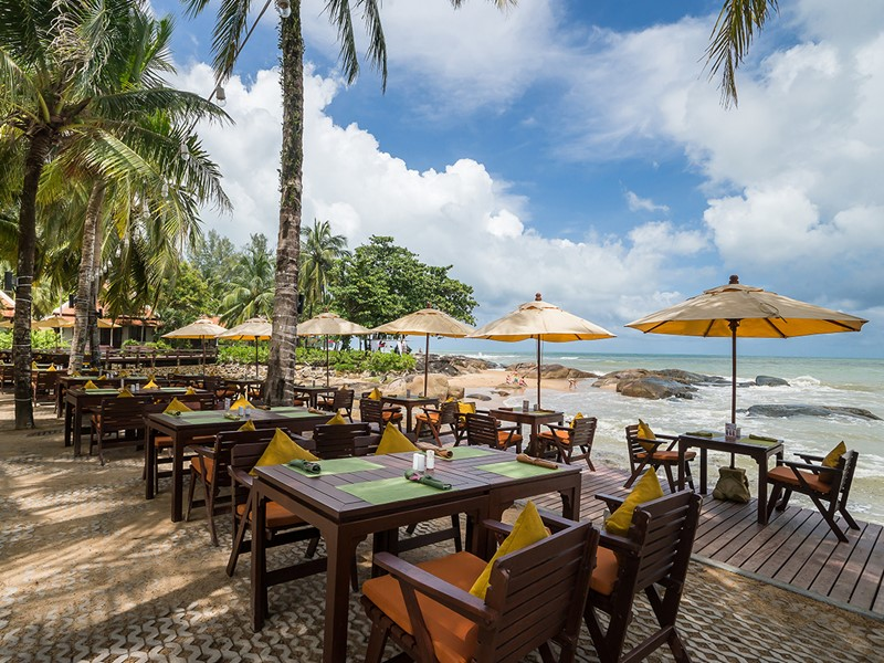 Le restaurant Sundowners du Khaolak Laguna Resort