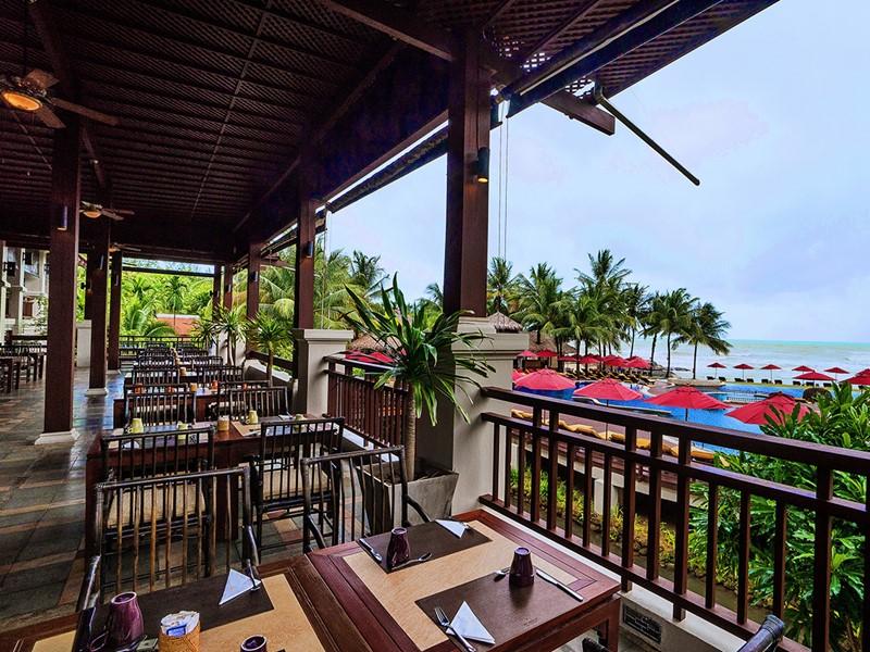 Le restaurant The Oriental de l'hôtel Khaolak Laguna